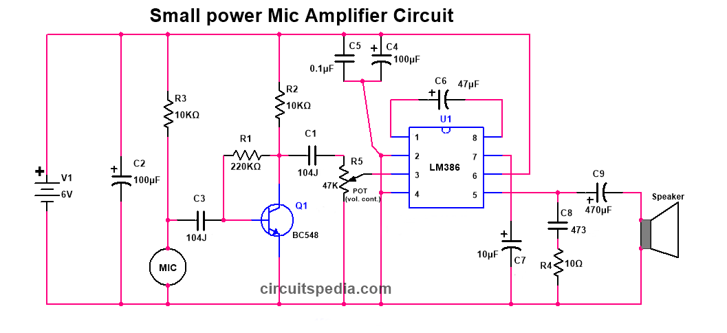 How To Connect Condenser Microphone With Any Amplifier