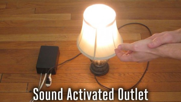 Sound Activated Outlet