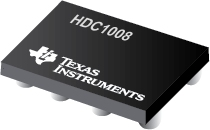 HDC1008 – Integrated Low Power Digital Humidity Sensor with Integrated Temperature Sensor