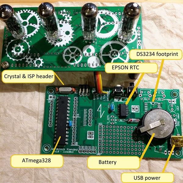 IV9 & IV16 tube numitron clock