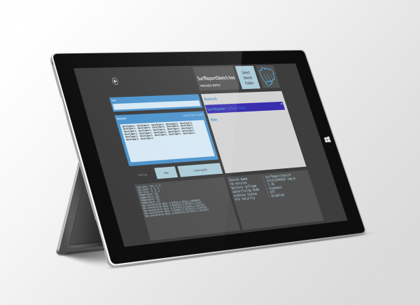Windows Bean Loader Enables Wireless Arduino Programming from Surface Pro Tablets