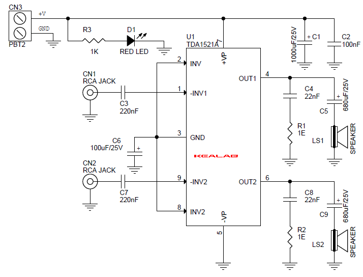 10W_Stereo_Amplifier_SCHEMATIC