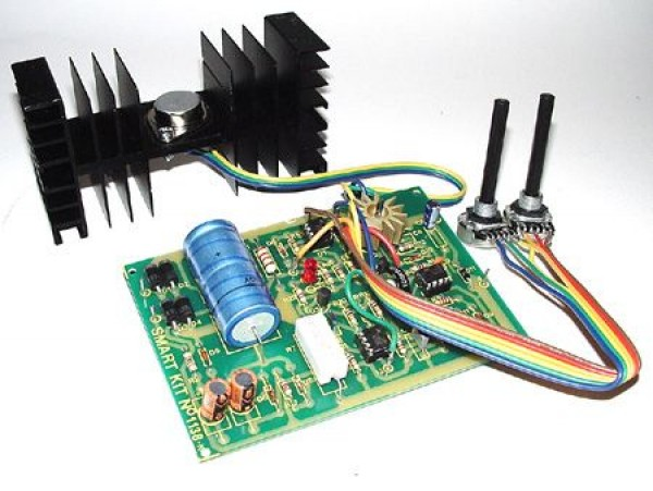 0-30 Vdc Stabilized Power Supply with Current Control 0 002
