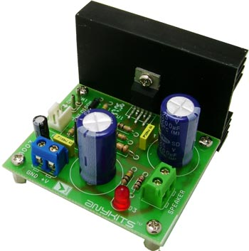 12W Audio Amplifier