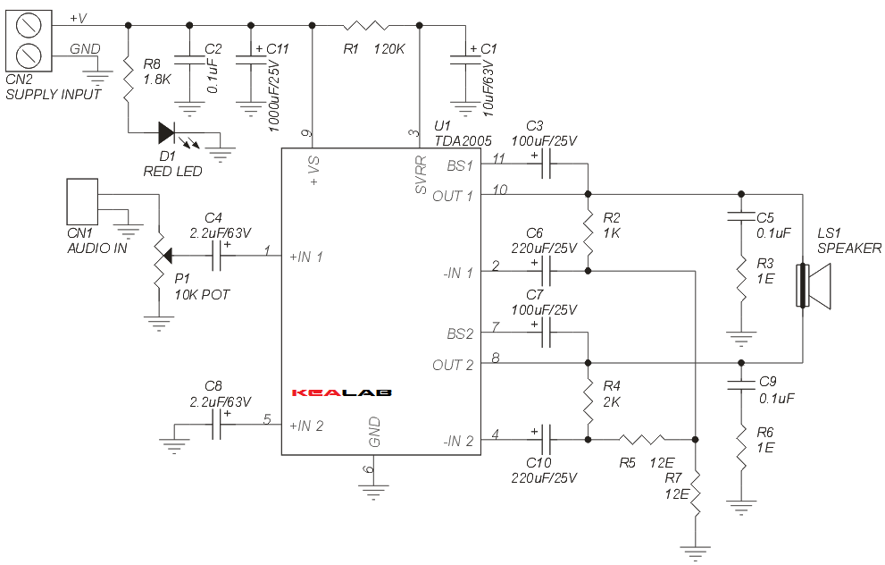 20W_BRIDGE_AUDIO_AMP_SCHEMATIC
