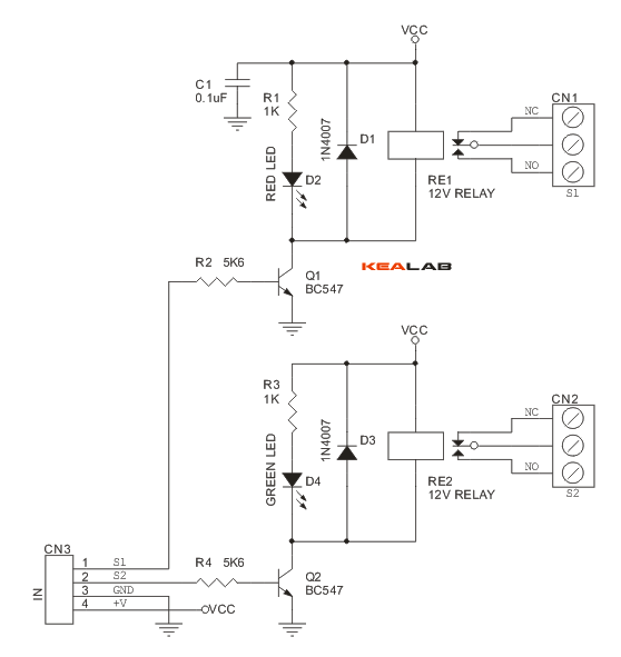 2_Channel_Relay_Board_SCHEMATIC