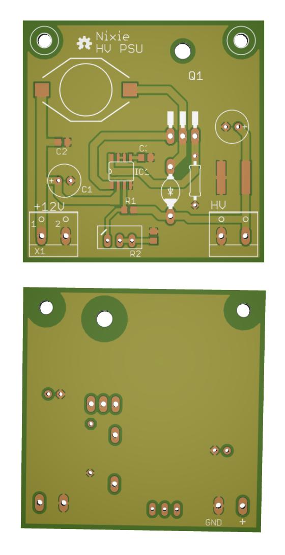 HV Nixie DC-DC Switching Power Supply - Electronics-Lab