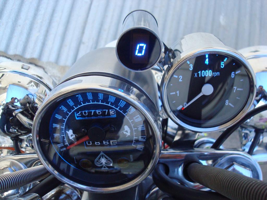 Motorcycle Universal Gear Indicator Electronics Lab Tachometer Wiring Diagram A