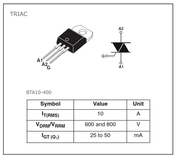BTA10-400_Triac