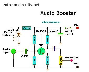 CHEAP AUDIO BOOSTER