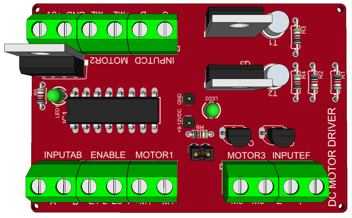 Control Your Motors With L293D and Arduino: 3 Steps
