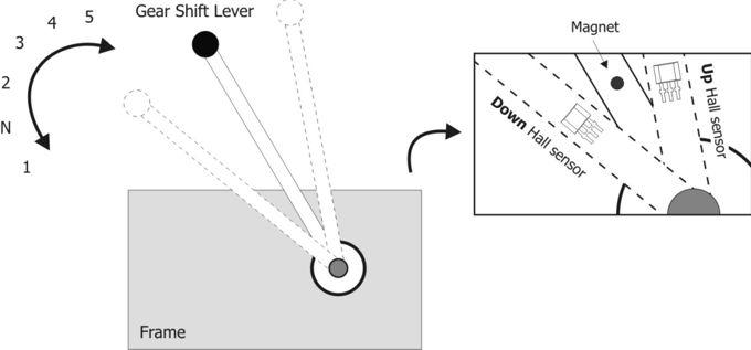 Motorcycle Gears Indicator 2 Controlcircuit Circuit Diagram - Wiring