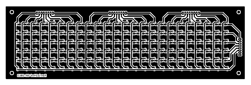 24x6 LED Matrix Control Circuit - Electronics-Lab