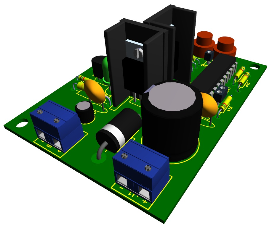 MCU_Power_Supply_3D