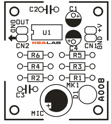 Capturing Sound Pt I Microphone Types furthermore Schematic Wiring Diagram 3 Way Switch likewise Mic Pre   Circuit likewise Lm386 Audio  lifier Circuit likewise Gambar Skema Condenser Microphone. on electret condenser microphone circuit