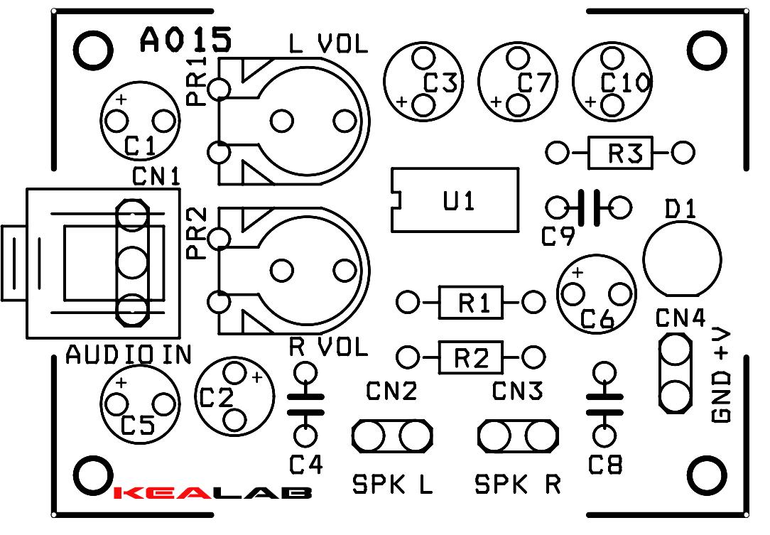 mini stereo audio amplifier