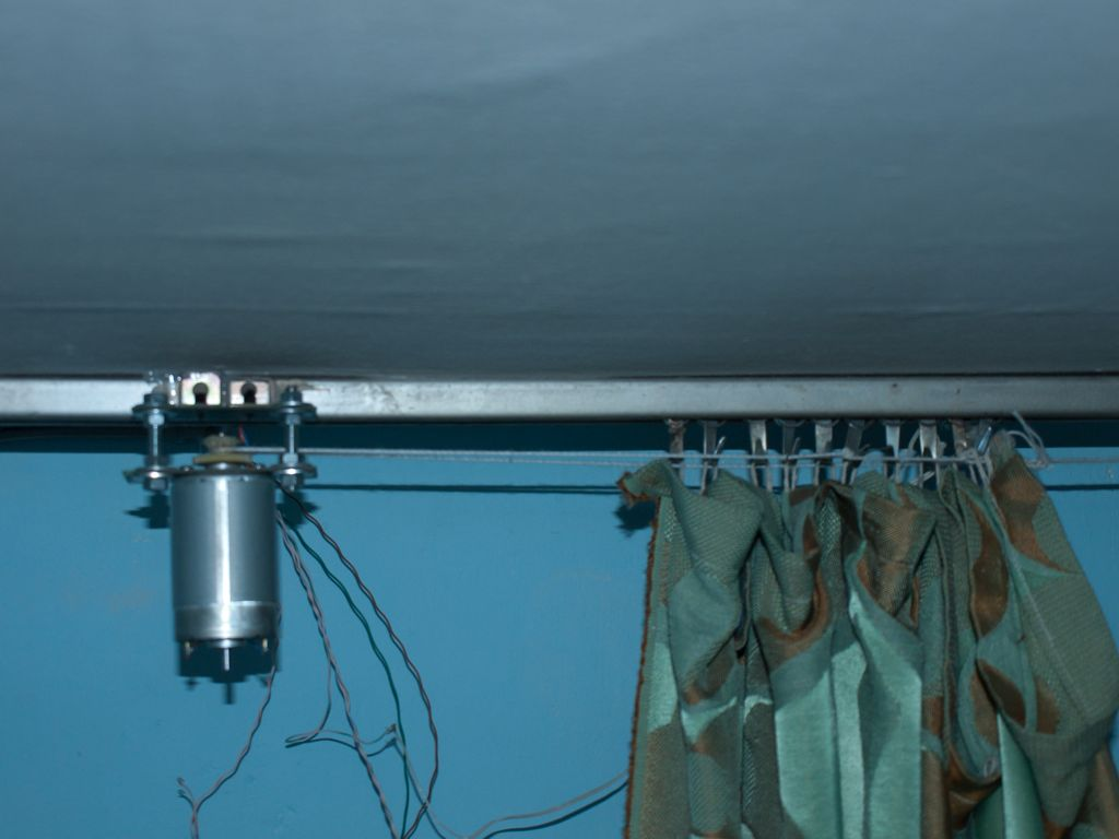 Motorized Curtain With Remote Control Electronics Lab
