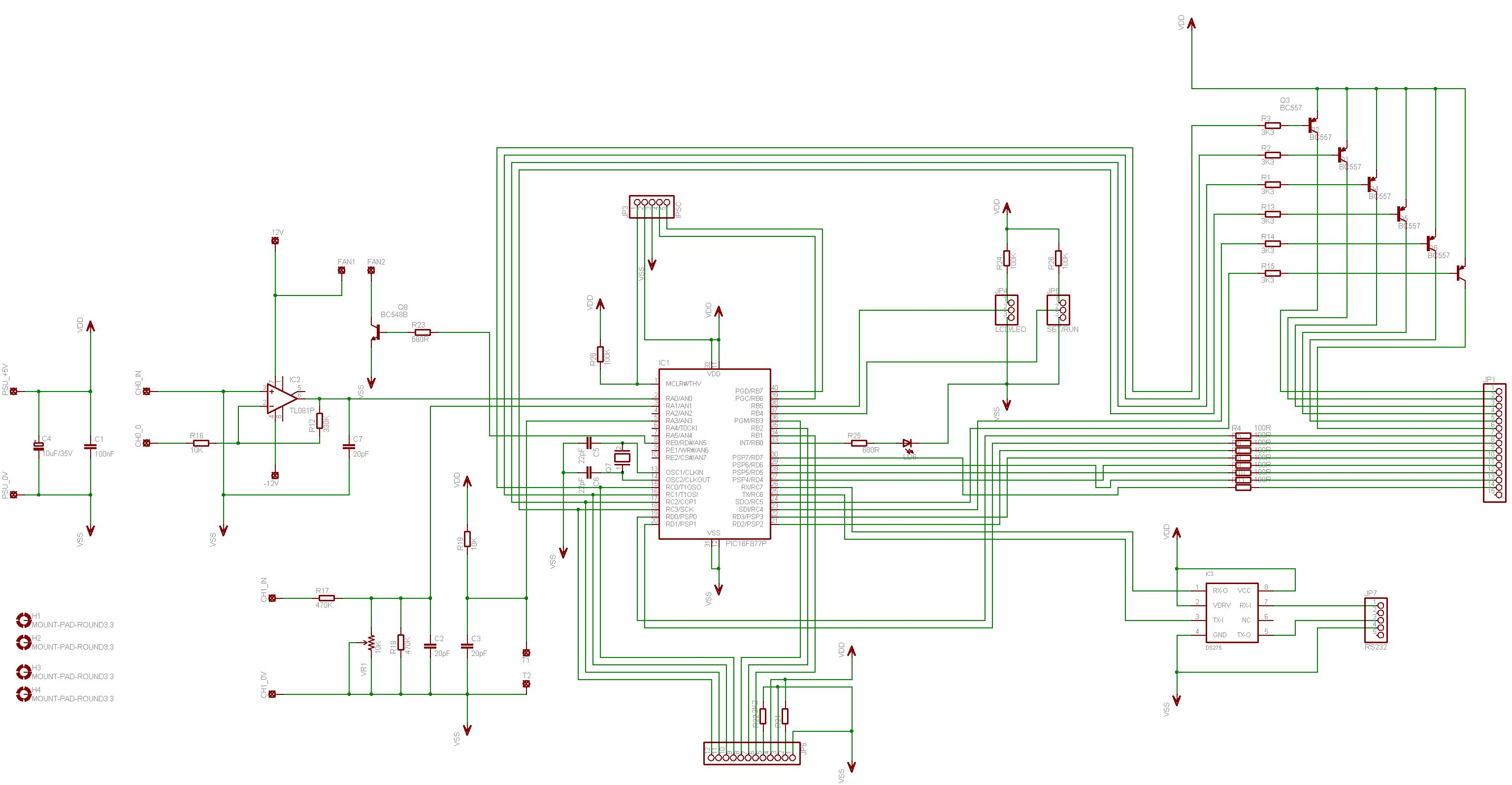 Digital Volt And Amp Meter With Temperature Control Electronics Lab Dummy Load Circuit Constant Current Schema Schematic Diagrams