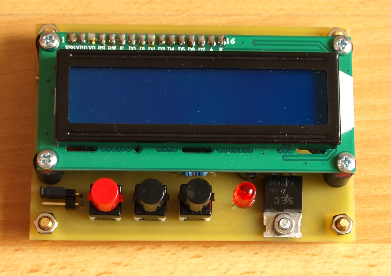 Simple Timer With Pic16f628a Electronics Lab Electronic Stopwatch Circuit Design This Is A Quick Project For Recently I Finished My Uv Light Exposure Box And Thought That It Will Be Convenient To Have Build In Switch