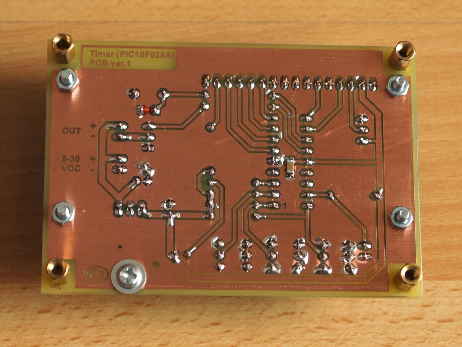 Simple Timer With Pic16f628a Electronics Lab Watchdog Circuit Photos
