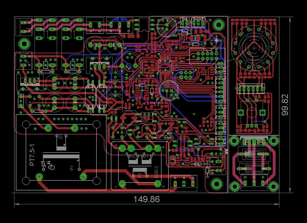 pcb_eagle_layout Welder Schematic on
