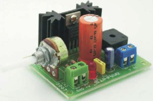 1.2 – 15V/3A adjustable regulated power supply
