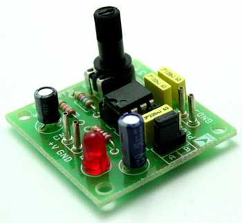 555 stepper pulse generator