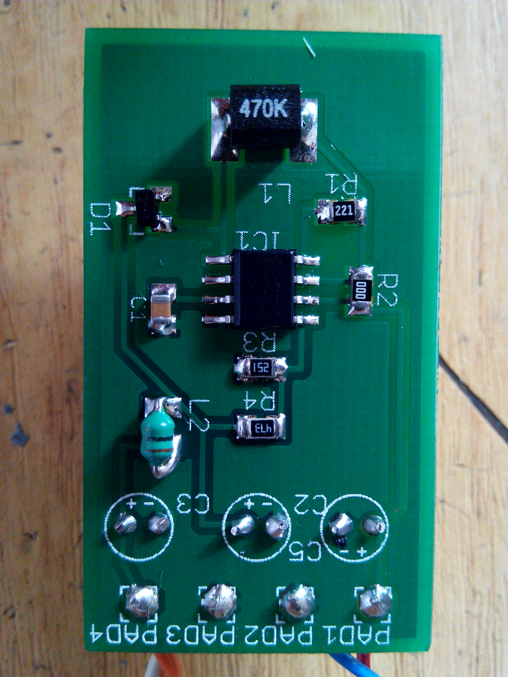 9v To 48v Dc Converter Electronics Lab Circuit Diagram Of 9 Volt Power Supply This Project Is A 8 12vdc 48vdc Based On Mc34063 Switching Regulator