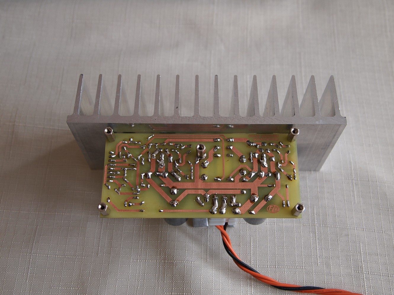 Audio Power Amplifier With Tda2050 Electronics Lab 20w Using Lm1875 Electronic Circuits And Diagram Photos
