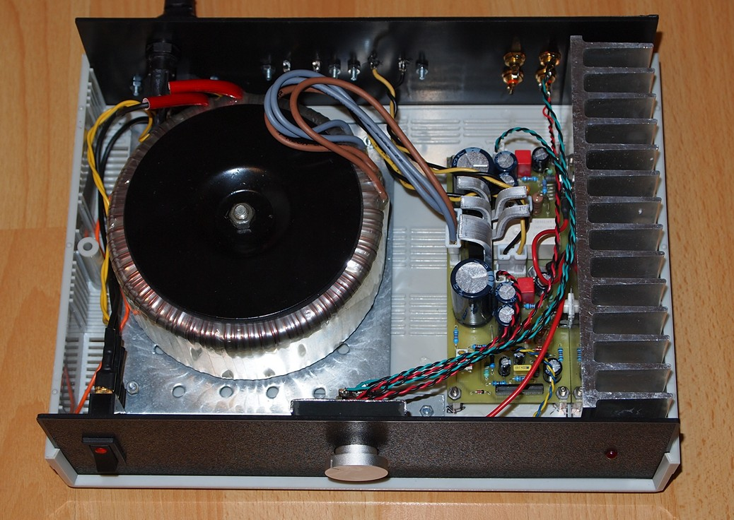 Audio Power Amplifier with TDA2050 - Electronics-Lab
