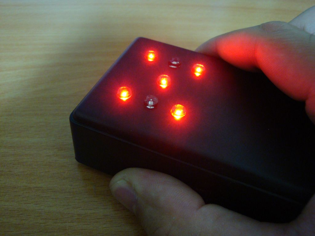 Motion Activated Led Dice Electronics Lab