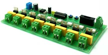 Microcontroller based running light controller