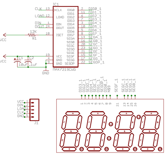 Implementation of a Simple Calculator Using 8051