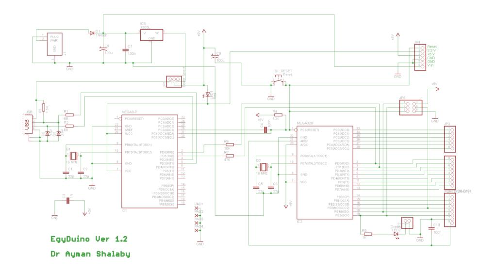 egyduino - arduino compatible board