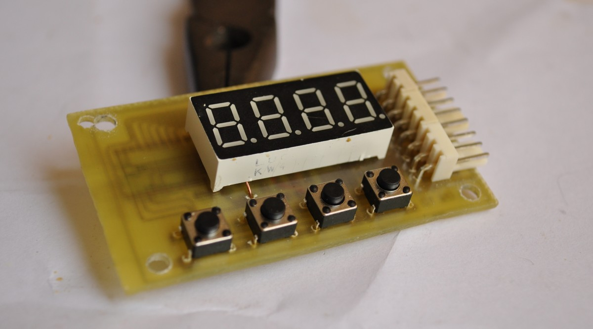 Led Uv Exposure Box Electronics Lab Http Wwwelectronicsprojectdesigncom Ledcircuithtml Timer Front