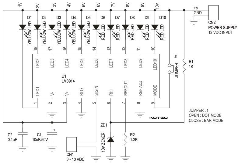 0 10v Voltage Monitor Electronics Lab