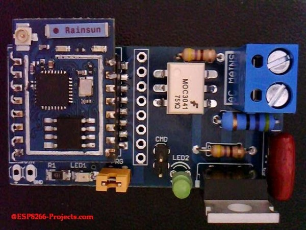 9 - ESP8266 - WIFI MPSW- Asembly - full - 9