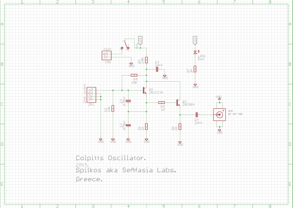 Colpitts PCB_1