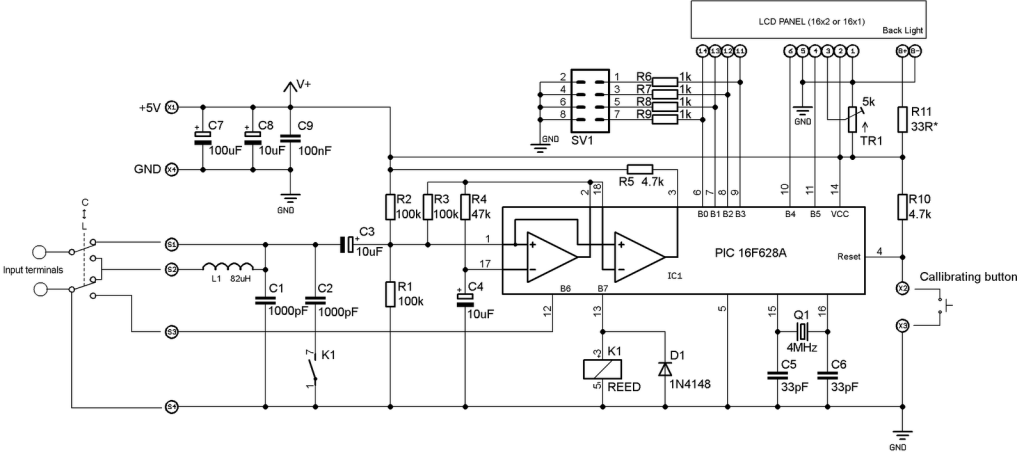 Simple LC meter - Electronics-Lab