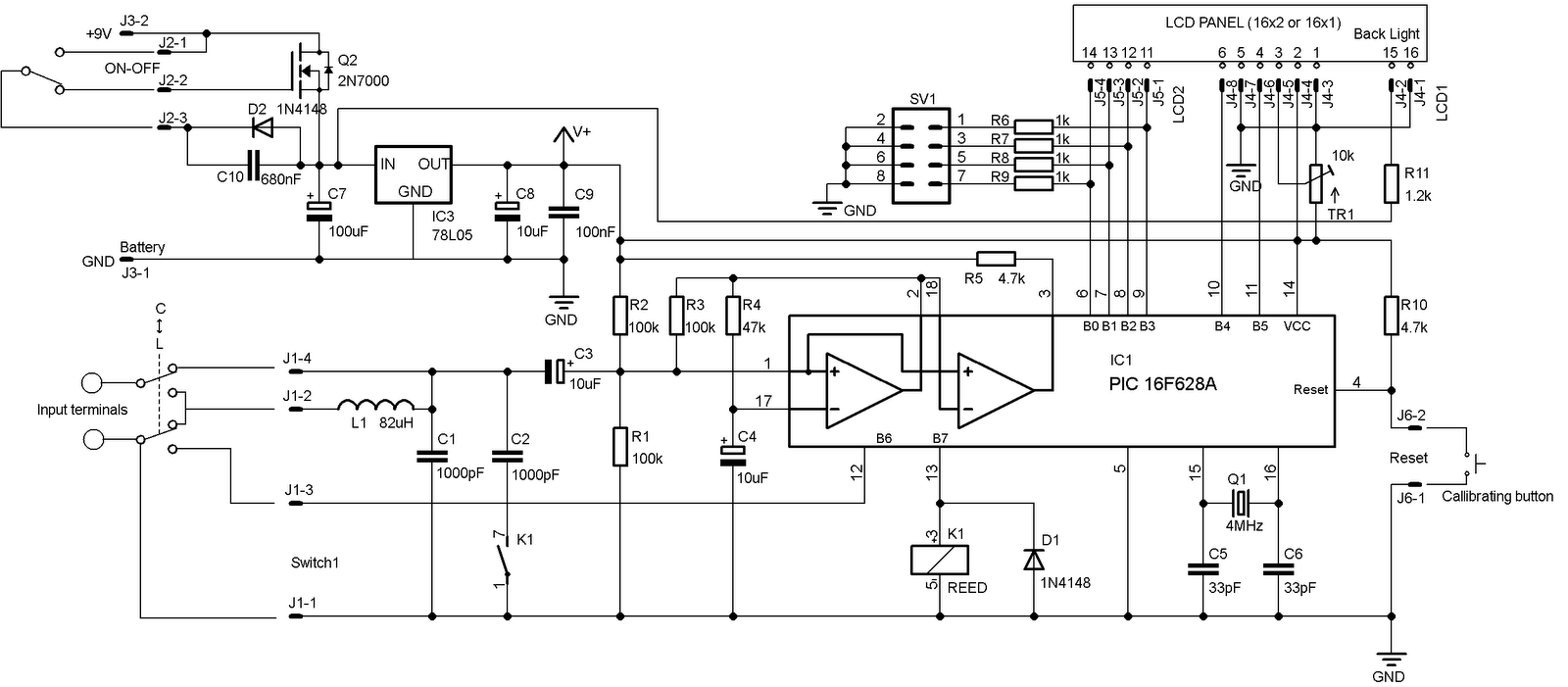 Lcr Meter Schematic : Lcr meter circuit diagram ireleast readingrat