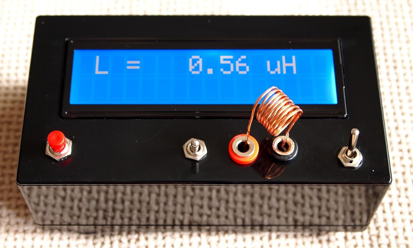 Simple Lc Meter Electronics Lab Lcr Circuit Diagram Lcmeter9v 4
