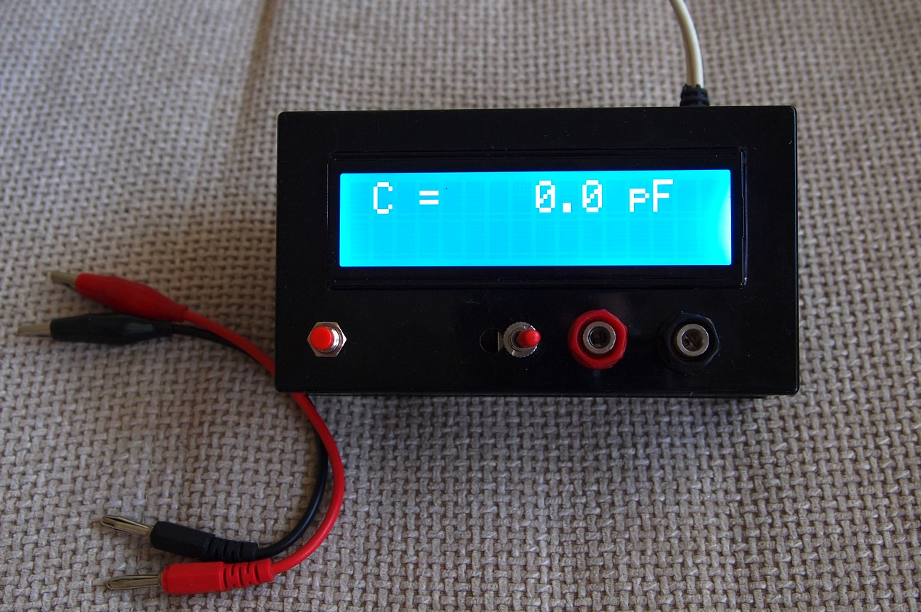 Simple Lc Meter Electronics Lab Lcr Bridge Ebay This Project Is A Based On Pic16f682a Mcu