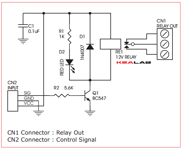 One channel relay driver electronics lab oncechannelrelaydriverschematic ccuart Images