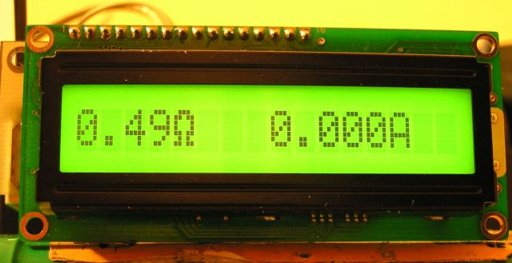 Voltmeter Ammeter Lcd Panel Electronics Lab