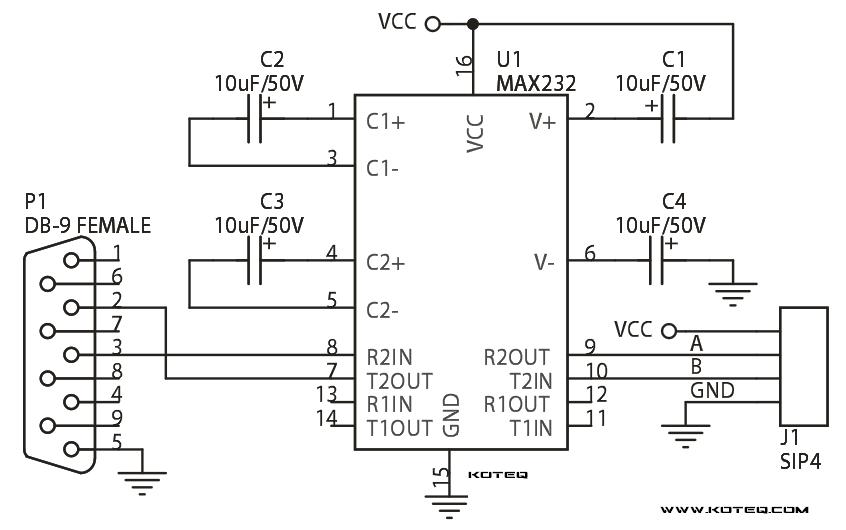 RS232_Module_Circuit