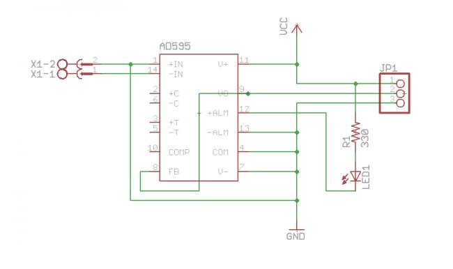 k type thermocouple circuit diagram thermocouple type k amplifier electronics lab  thermocouple type k amplifier