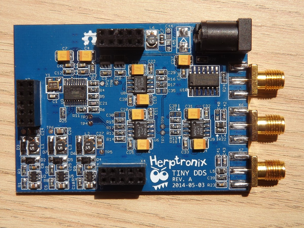 Tiny Dds Open Source Generator Electronics Lab Max038 Board