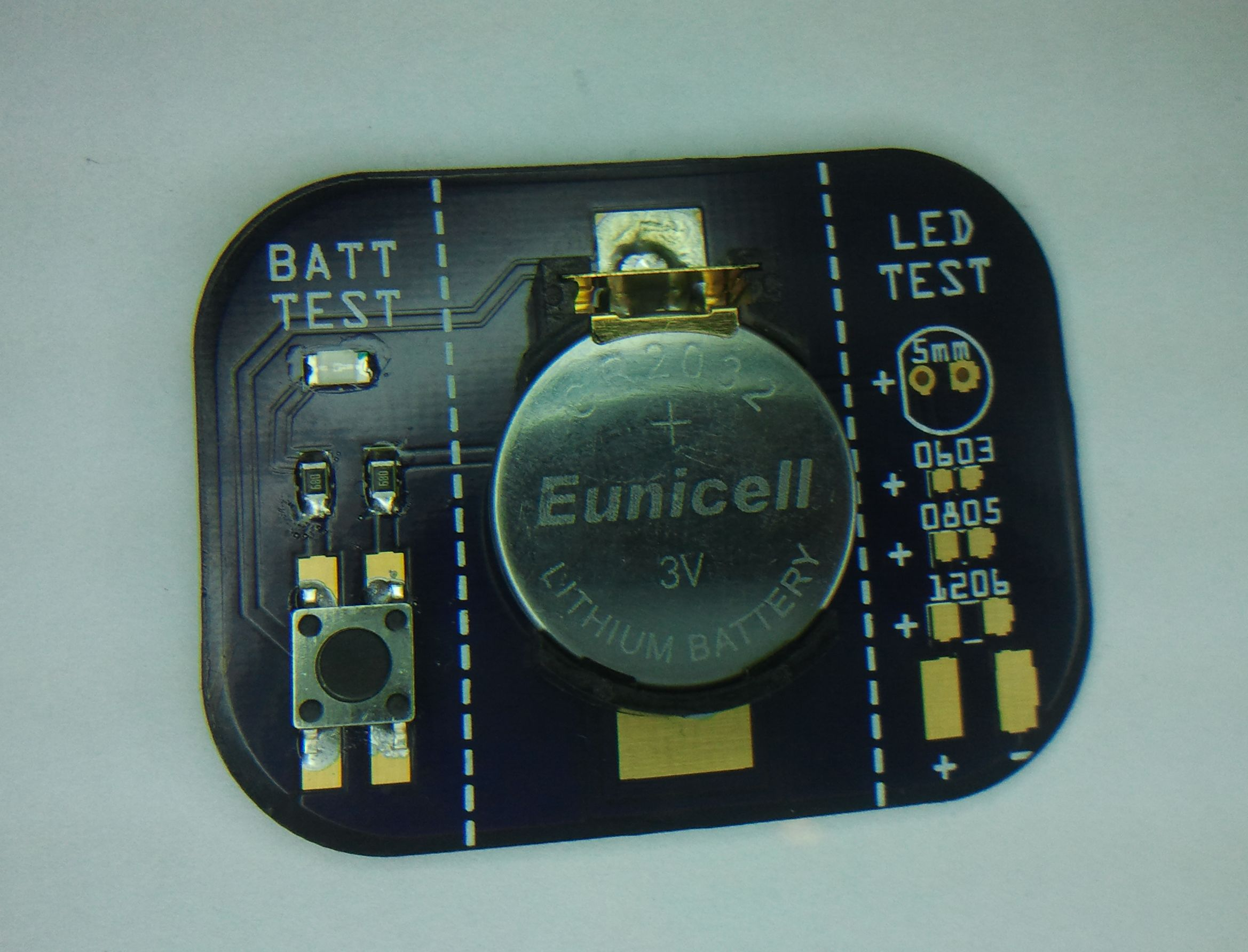 Simple SMD LED tester - Electronics-Lab