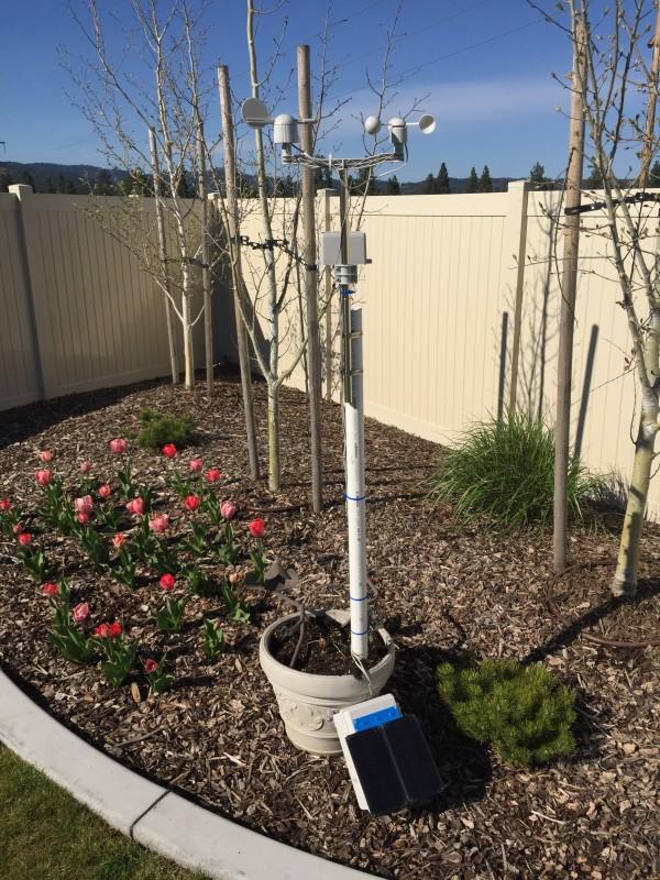 WeatherPi – Solar Powered Raspberry Pi weather station