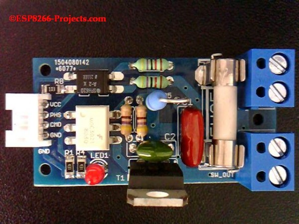 WIFI Mains Power Dimmer / Switch